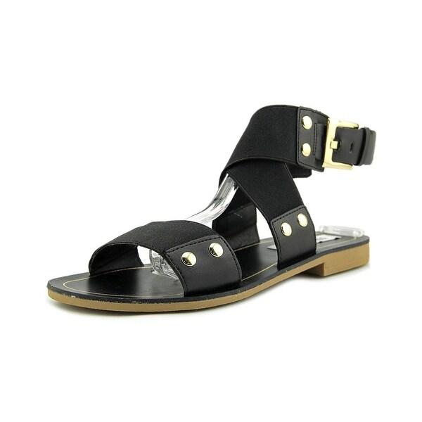 Steve Madden Cidnie Women Open Toe Synthetic Black Gladiator Sandal