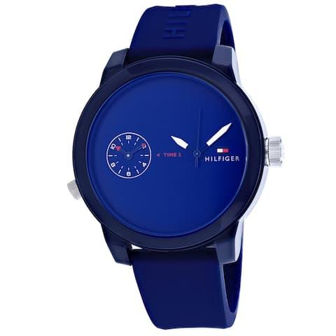 Tommy Hilfiger Men's Denim Blue Dial Watch - 1791325