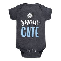 Snow Cute  - Infant One Piece
