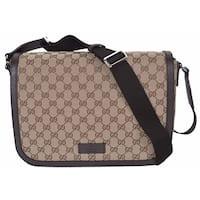 744b0143b97504 Shop Gucci Women's Dark Brown Leather Large Hip Bamboo Tote Bag ...