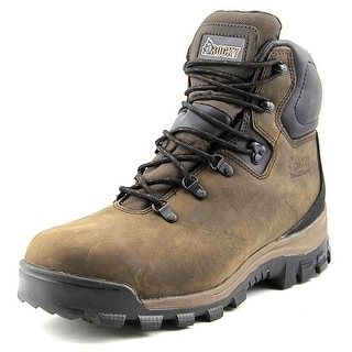 Rocky Core Men W Round Toe Leather Brown Hiking Boot