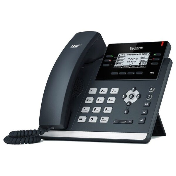 Yealink T41s Sip 3 Line Telephone With 10/100Mb Ethernet