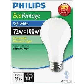 GE 72W Sw A19 Halogen Bulb