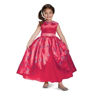 Disguise Elena Ball Gown Deluxe Child Costume - Red