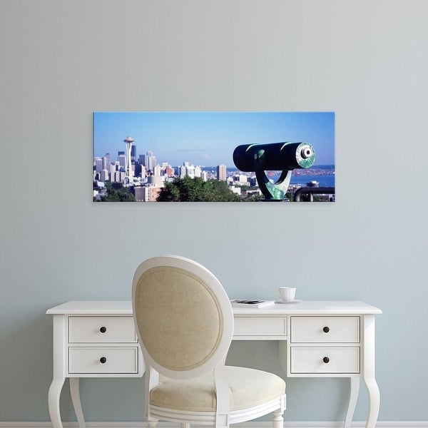 Easy Art Prints Panoramic Images's 'Observatory Seattle Washington USA' Premium Canvas Art
