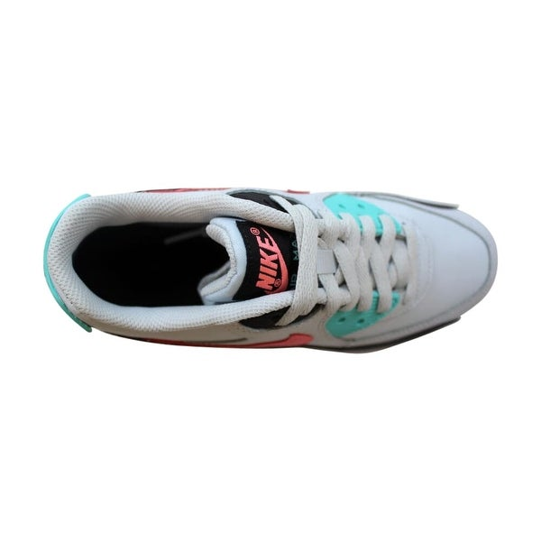 Damen Nike Air Max 90 Grade School Pure PlatinumLava Glow