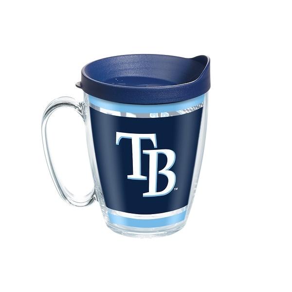 MLB Tampa Bay Rays Legend 16 oz Coffee Mug with lid