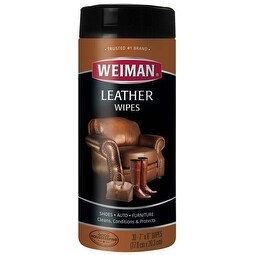 30 Wipes/Pkg - Weiman Leather Wipes