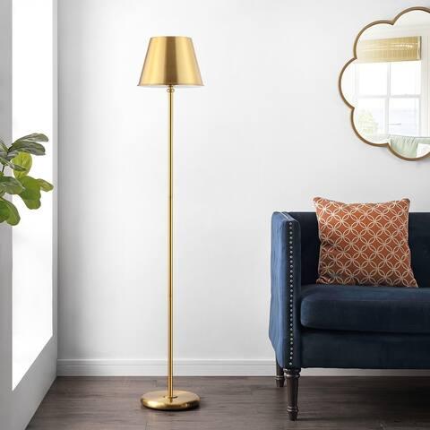 "Safavieh Lighting 60-inch Asher Iron Floor Lamp - 10.9"" x 10.9"" x 60"""