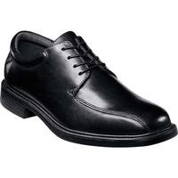 Nunn Bush Men's Marcell 83364 Bicycle Toe Oxford Black Leather