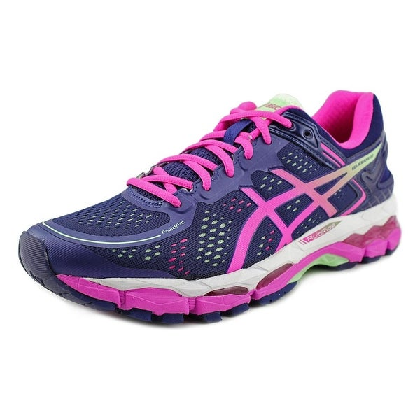 Asics Gel-Kayano 22 2A Round Toe Synthetic Running Shoe