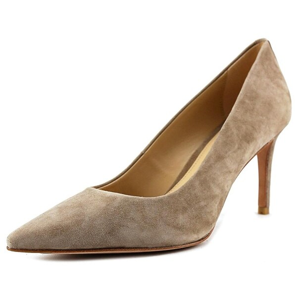 Coach Smith Pointed Toe Suede Heels