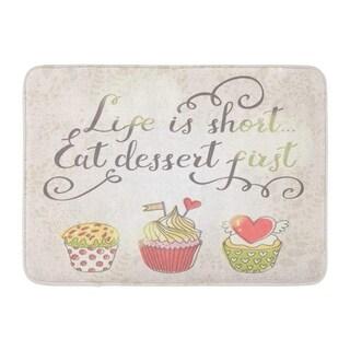 Eat Dessert First Duvet Cover Set Small