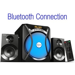 Boytone BT-230F, 2.1 Wireless Bluetooth Multi Media speaker, powerful home theater speaker systems, FM Radio, SD, USB ports, AUX
