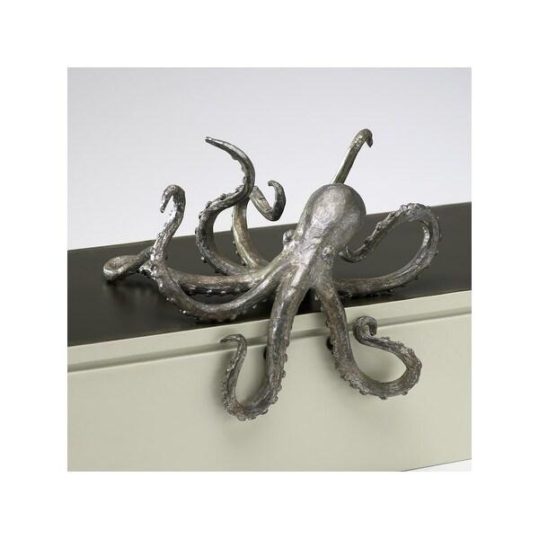 "Cyan Design 2827 3.75"" Octopus Shelf Decor - Pewter - N/A"