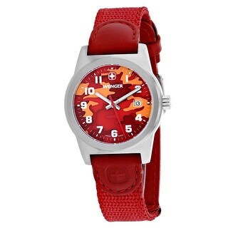 Wenger Women's Field Classic 01.0411.104 Red Dial watch