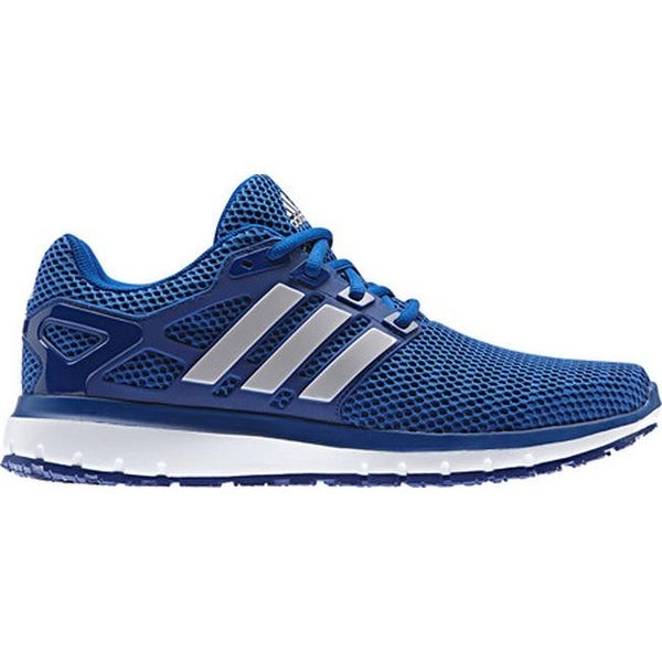2e9c235bce6 Shop adidas Men s Energy Cloud 2-Tone Knit Mesh Running Shoe Mystery Ink  F17 LGH Solid Grey Collegiate Royal - Free Shipping Today - Overstock -  17366679