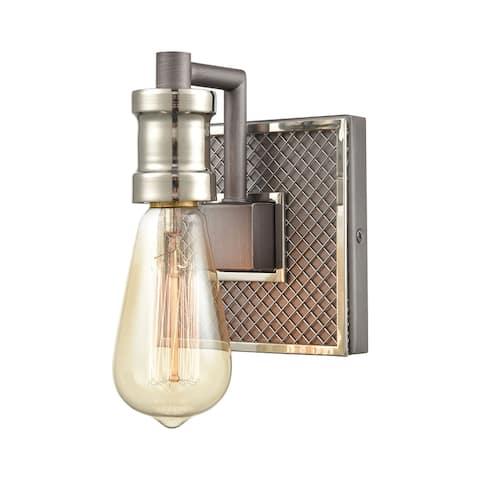 Gridiron 1-Light Vanity Light
