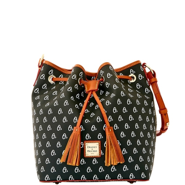 Dooney & Bourke MLB Orioles Drawstring (Introduced by Dooney & Bourke at $248 in Oct 2015) - Black