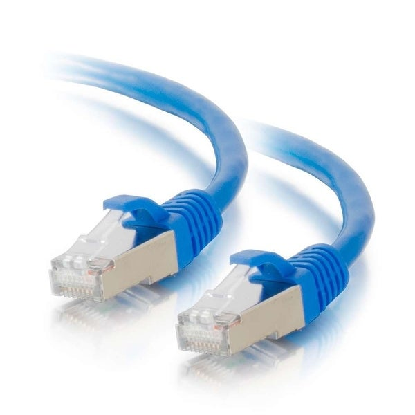 C2g - C2g 25Ft Cat6 Snagless Shielded (Stp) Network Patch Cable - Blue