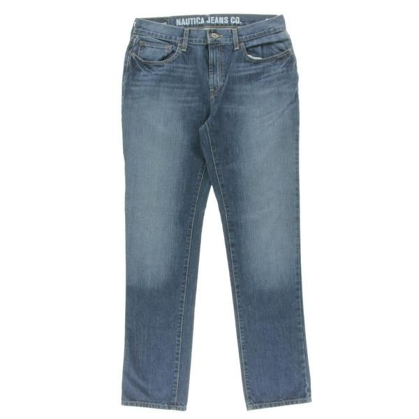 Nautica Jeans Co. Mens Jeans Slim Fit Classic Rise
