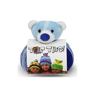 DMC Yarn Kit Top This Teddy Bear