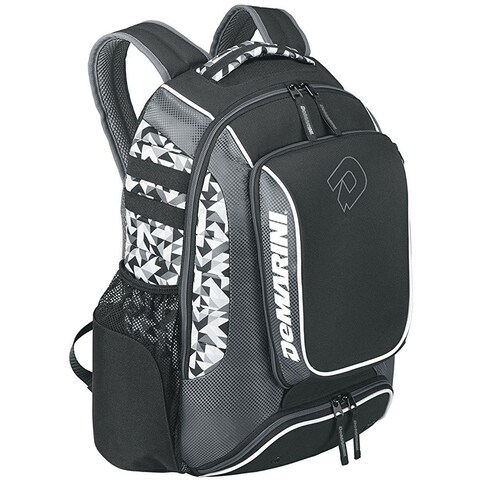 DeMarini Momentum Backpack (Charcoal Shatter Grey)