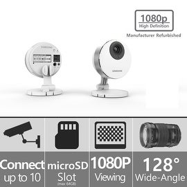 (Manufacturer Refurbished) SNH-P6410BMR - Samsung SmartCam HD Pro 1080p Full HD Wifi IP Camera