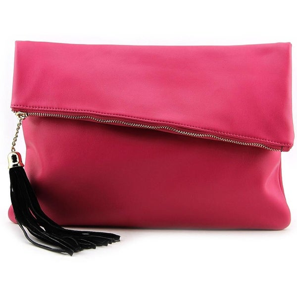 MG Collection H0714 Women Synthetic Clutch - Pink