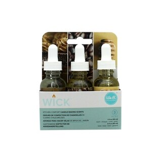 We R Memory Wick Candle Scent 3pk Kitchen Comfort