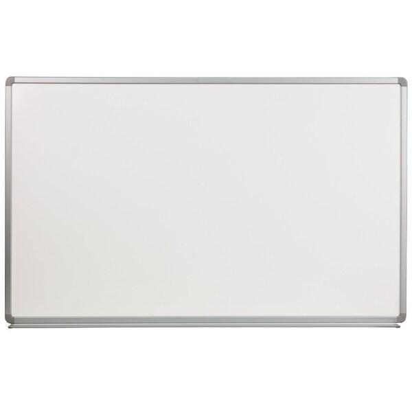 "Delacora FF-YU-90X150-GG 60"" Wide Aluminum Framed Dry Erase Board"