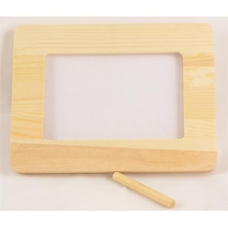 """1 Pc, Pine Picture Frame 4 """" X 6 """" Ready To Paint Or Decorate To Remembe Special Occasion, As Great Project For Kids"""
