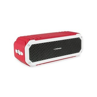 Officially Licensed Lifeguard Portable Bluetooth Speaker - Superior Sound Quality - Waterproof with 8-Hours Playtime - W