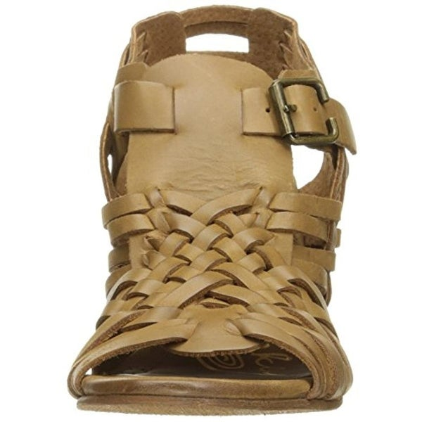 Shop Naughty Monkey Womens Dually Noted Wedge Sandals