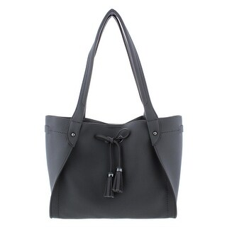 Jessica Simpson Womens Elenore Shopper Handbag Faux Leather Pebbled - Medium