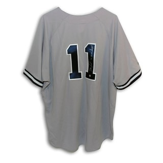 Dwight Doc Gooden New York Yankees Autographed Gray Majestic Jersey Inscribed 96 00 WS Champs