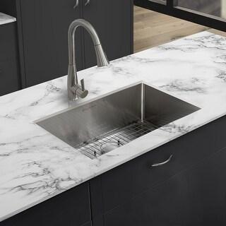 """Rivage 30 x 18 Undermount Kitchen Sink - 30"""" x 18"""""""