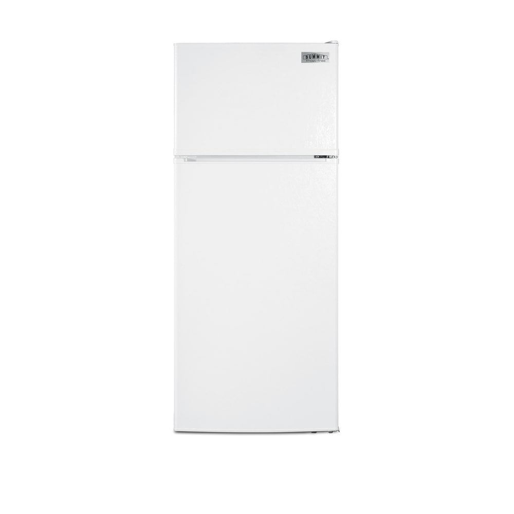 """Summit  FF1118IM  24"""" Wide 10.3 Cu. Ft. Top Mount Refrigerator with Icemaker - White (White)"""