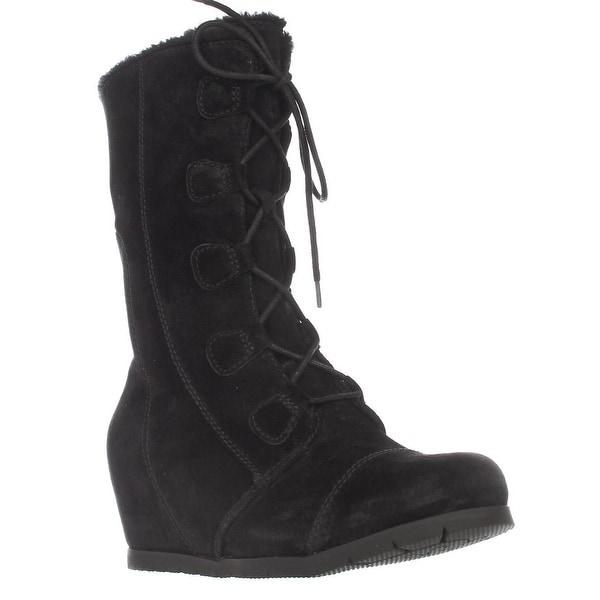 BareTraps Brinda Wedge Winted Boots, Black