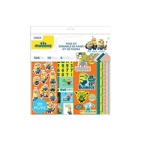 EK Minions 12x12 Page Kit - Medium