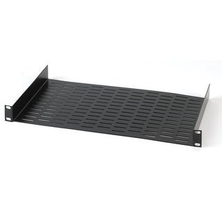 Chief Uns-1 Raxxess Universal Component Server Rack Shelf 1 Space, Black