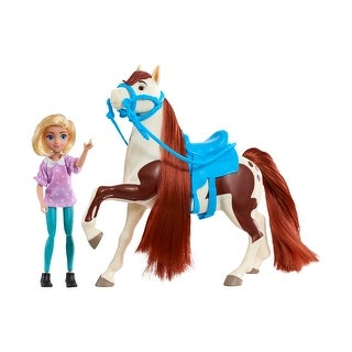 Link to DreamWorks Spirit Riding Free Collector Doll & Horse - Abigail & Boomerang Similar Items in Dolls & Dollhouses