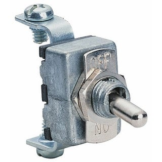 Calterm 41700 Die Cast Toggle Switch, 15 Amp, Nickel Plated