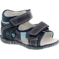 Primigi Boys 7045 European Leather Fashion Sandal With Closed And Supportive Back