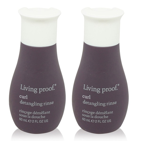 Living Proof Curl Detangling Rinse 2 Oz - 2 pack