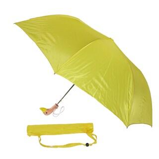 Leighton Wooden Duck Head Umbrella (Option: YELLOW)
