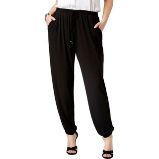 NY Collection Womens Plus Jogger Pants Matte Jersey Casual - 2x