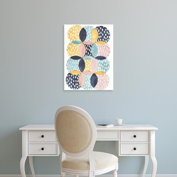 Easy Art Prints Grace Popp's 'Deluge I' Premium Canvas Art