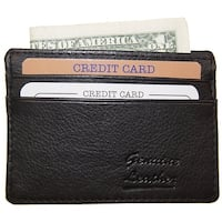 Improving Lifestyles Leather Black Credit Card FREE Bag SUN0120BK