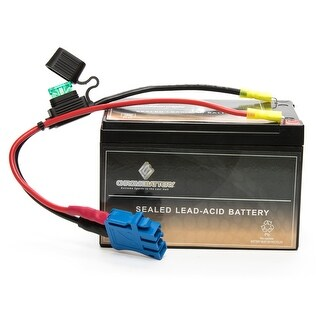 Peg Perego Replacement Battery- 12V Rechargeable Battery